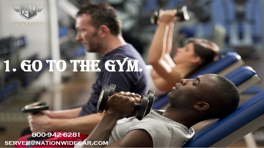 Go to the gym in DC