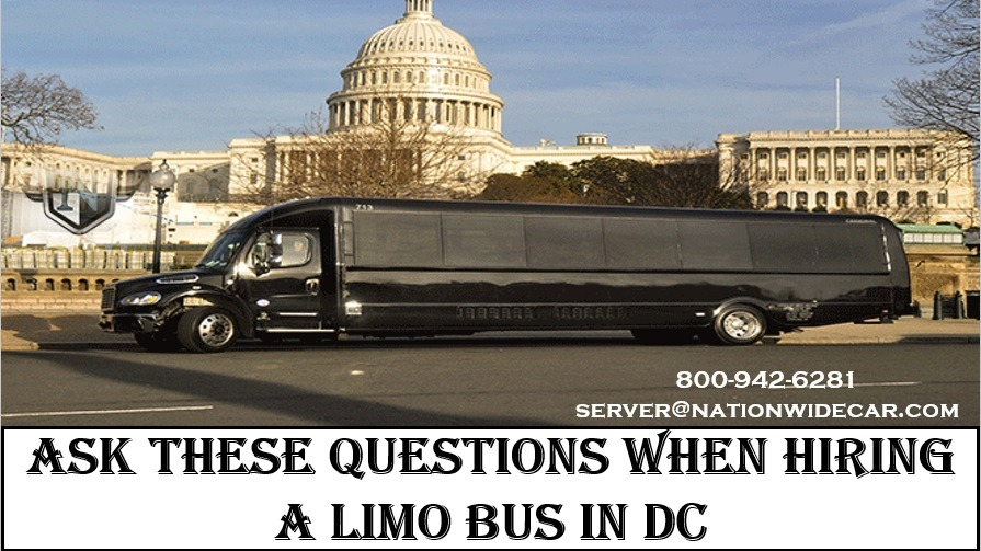 Ask These Questions when Hiring a Limo Bus in DC