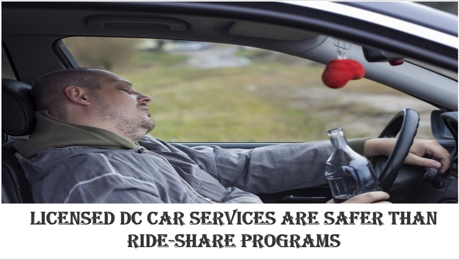 Licensed DC Car Services are Safer than Ride-Share Programs