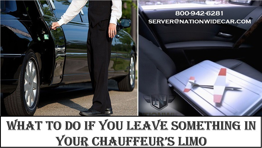 What To Do if You Leave Something in Your Chauffeur's Limo