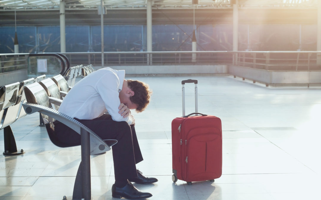 Flight delays on business trips to DC