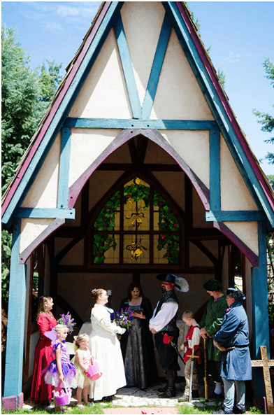 Medieval Wedding Ceremony Traditions - 800-942-6281