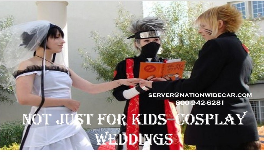 Not Just For Kids–Cosplay Weddings