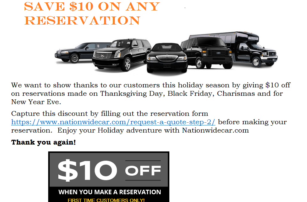 BLACK FRIDAY LIMO SERVICE