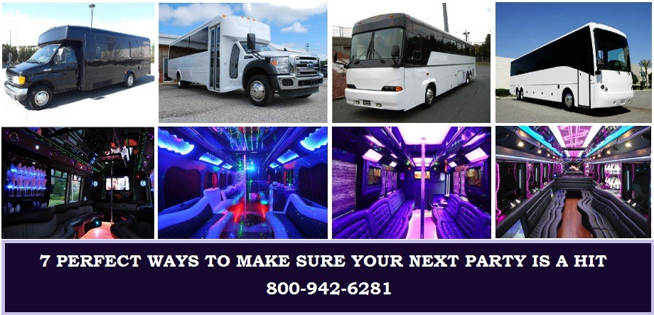 7 Reasons you should Rent a Party Bus for you Next Birthday