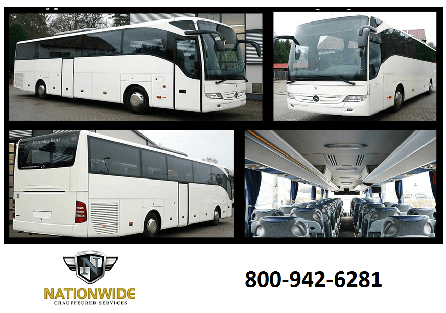 Los Angeles Charter Bus Rental