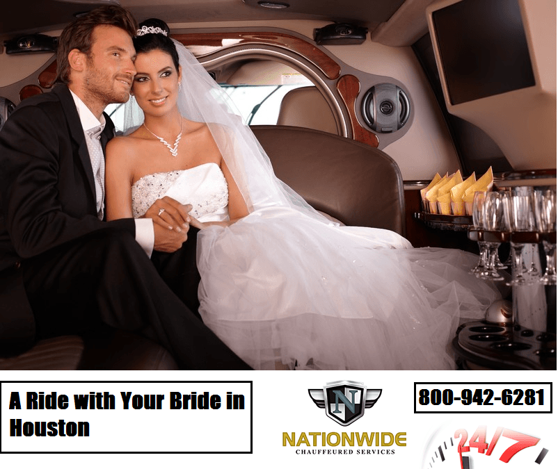A Ride with Your Bride in Houston