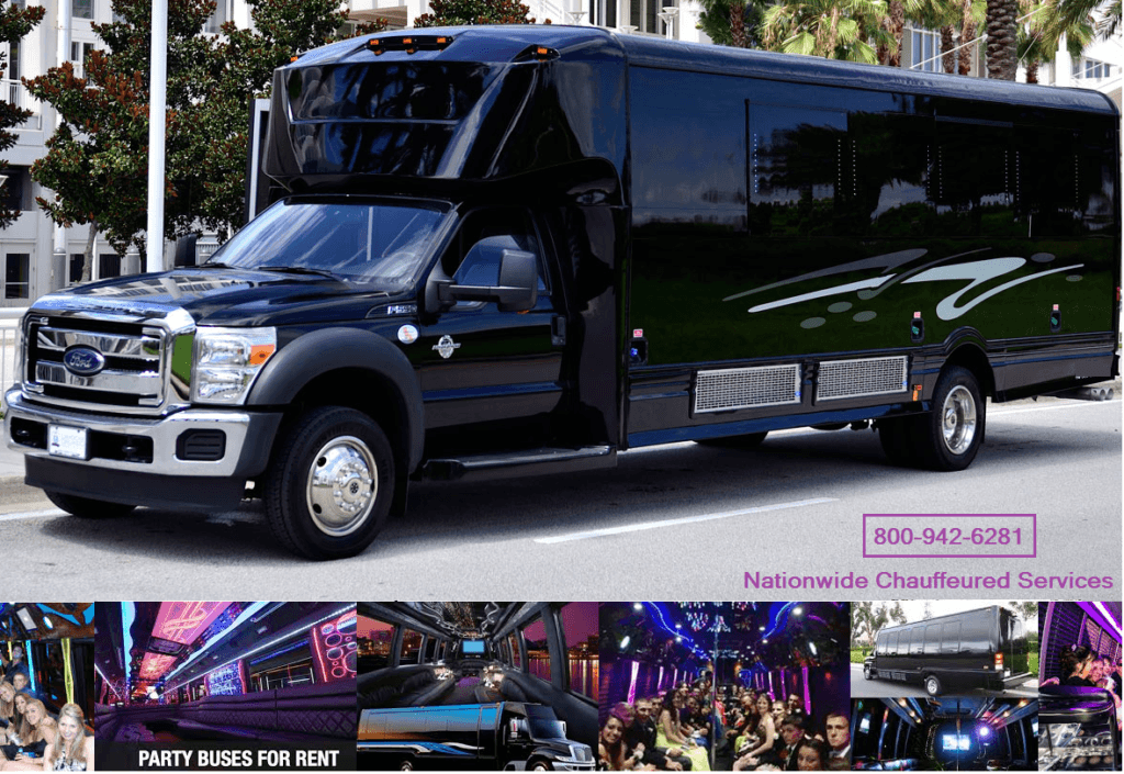 Jacksonville Limo Party Bus