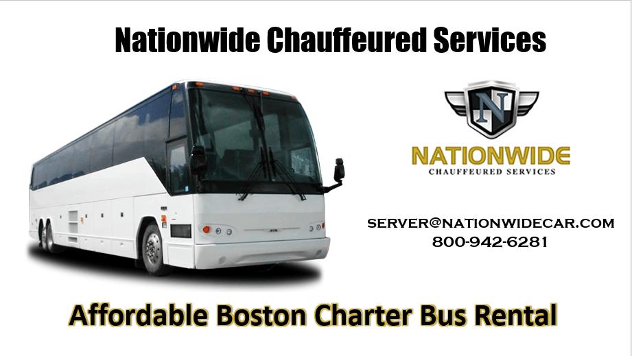 Charter Bus Rental Boston MA