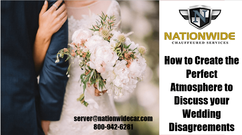 How to Create the Perfect Atmosphere to Discuss your Wedding Disagreements