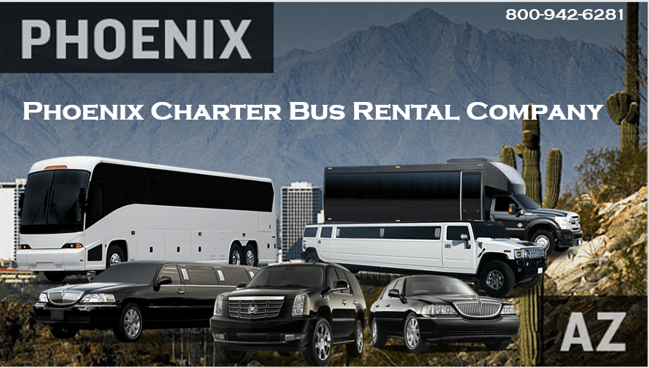 Phoenix Charter Bus Rental