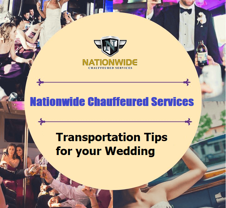 Transportation Tips for your Wedding