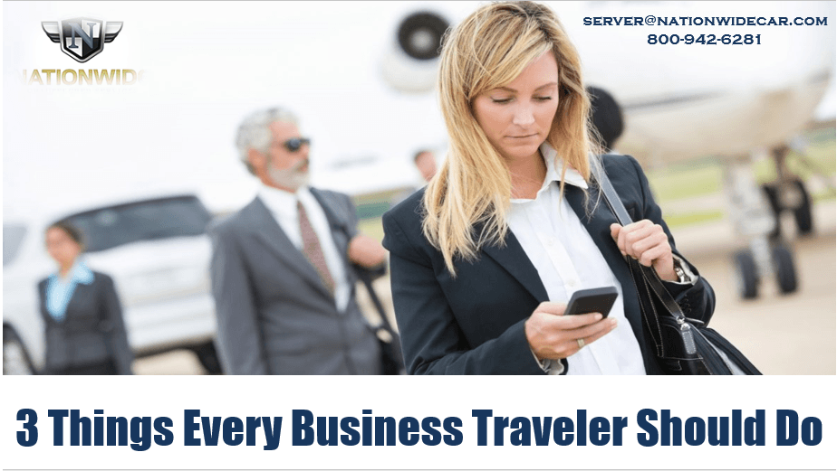 Things Every Business Traveler Should Do