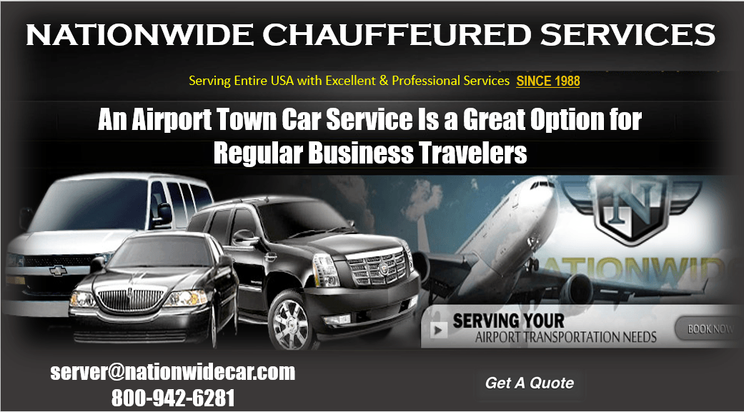 An Airport Town Car Service Is a Great Option for Regular Business Travelers