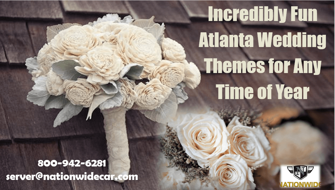 Incredibly Fun Atlanta Wedding Themes for Any Time of Year