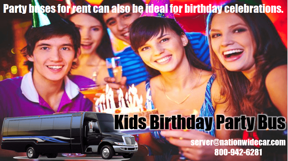 Kids Party Bus for Birthday