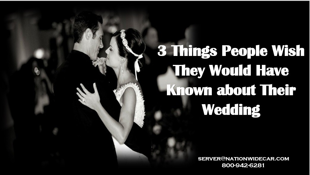 3 Things Newlyweds Wish They Would Have Had at Their Wedding