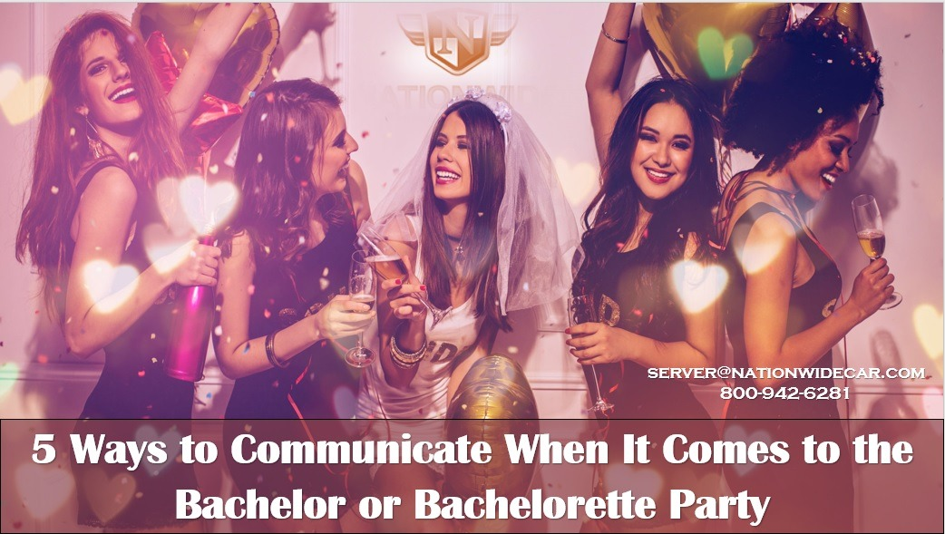 5 Ways to Communicate When It Comes to the Bachelor or Bachelorette Party
