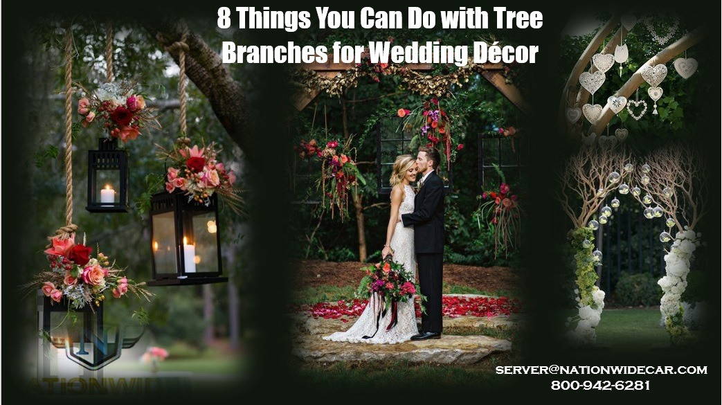 8 Things You Can Do with Tree Branches for Wedding Décor