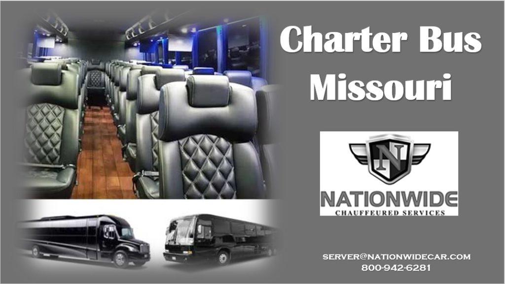 Charter Bus Rental Missouri