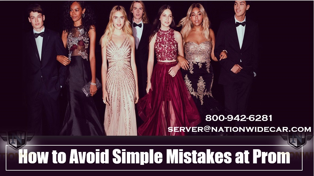 How to Avoid Simple Mistakes at Prom
