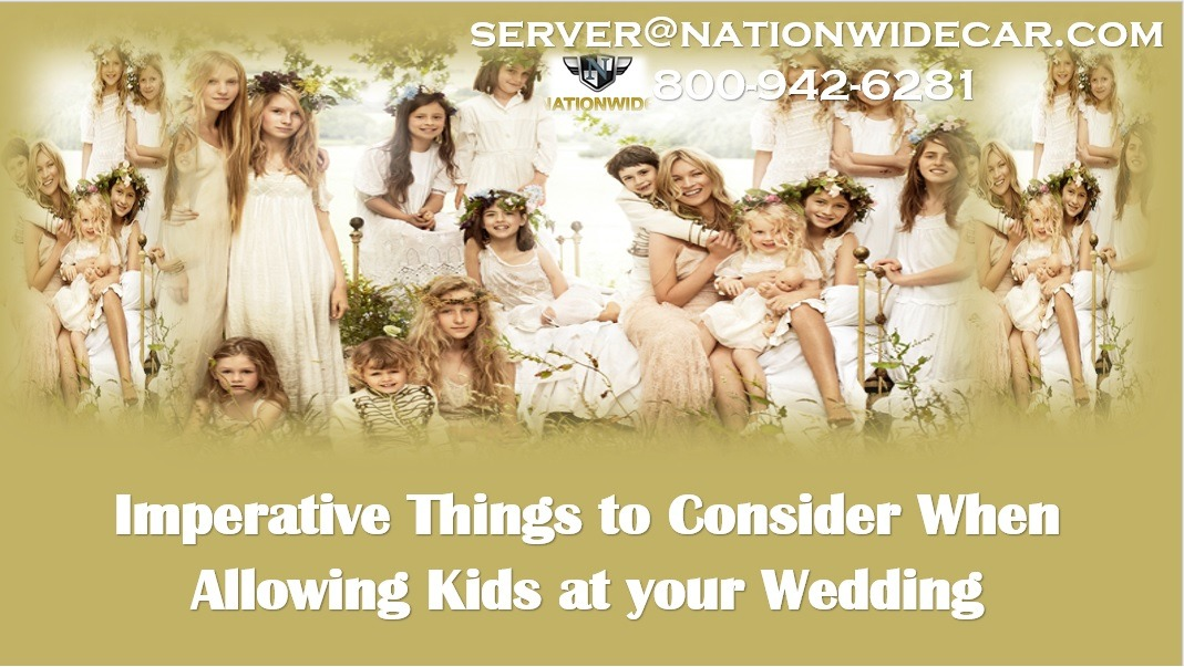Imperative Things to Consider When Allowing Kids at your Wedding