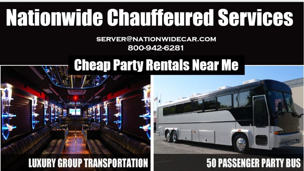 Party Bus Rental Near Me