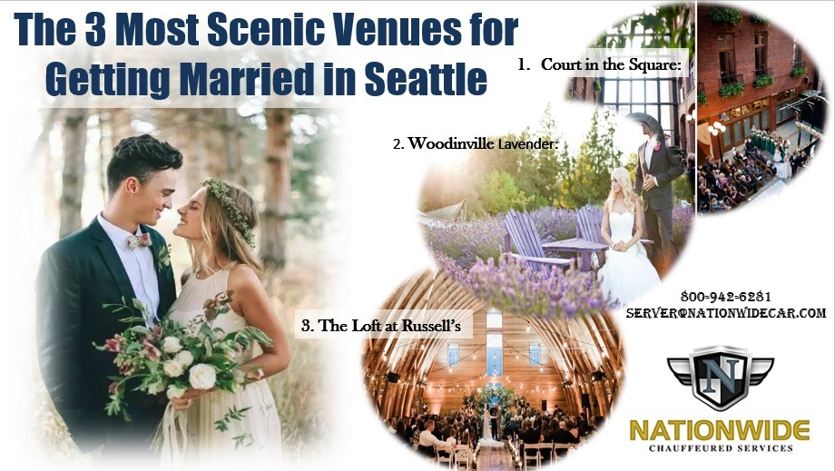 The 3 Most Scenic Venues for Getting Married in Seattle
