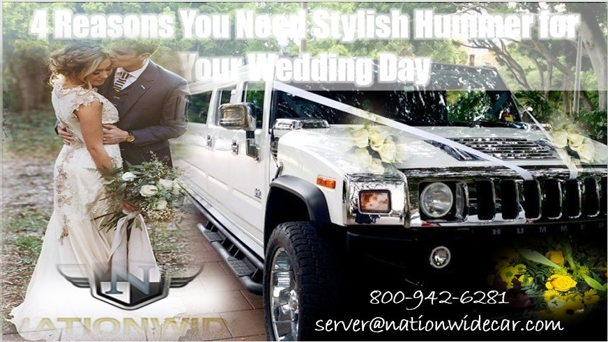 4 Excuses for a Stylish Hummer Limo at Your Wedding
