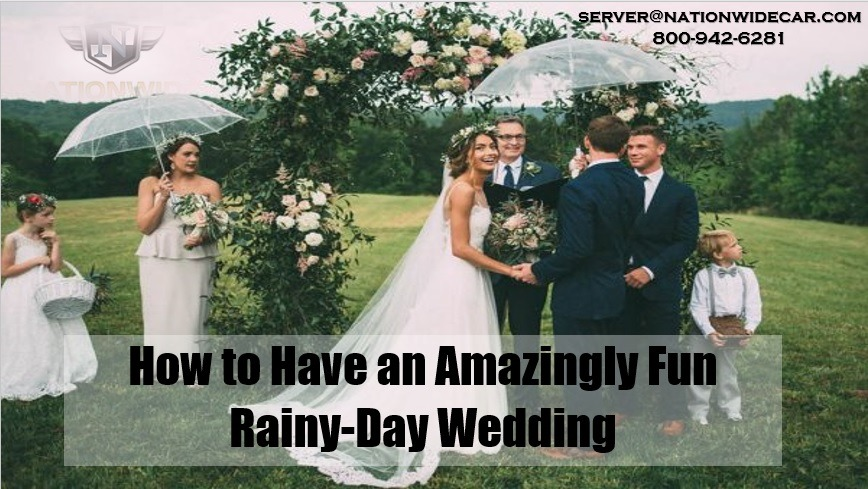 How to Have an Amazingly Fun Rainy-Day Wedding