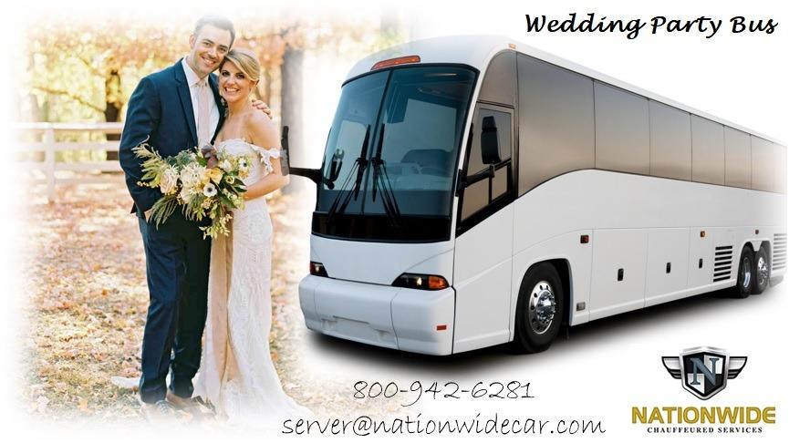 Wedding Party Bus Rental