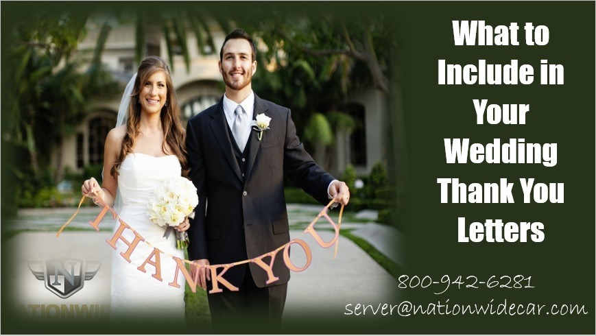How to Write Amazing Wedding Thank You Letters Your Guests Will Love