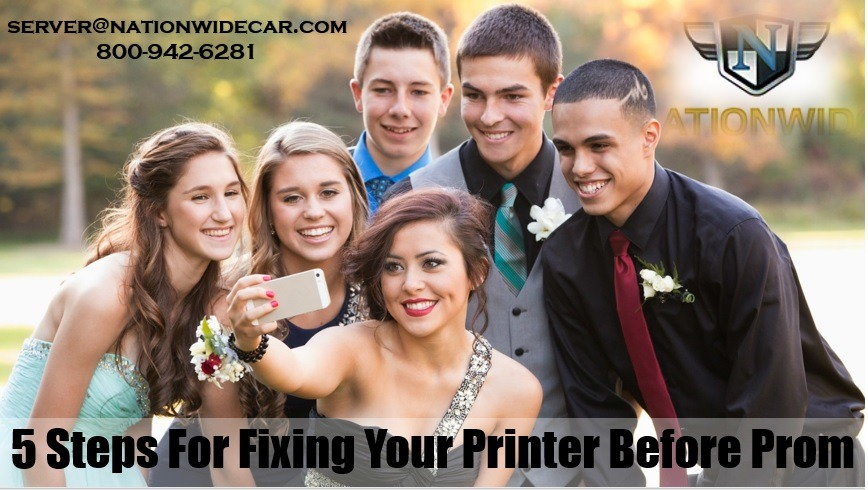 5 Sure Fire Ways to Get Your Printer Working Before Prom