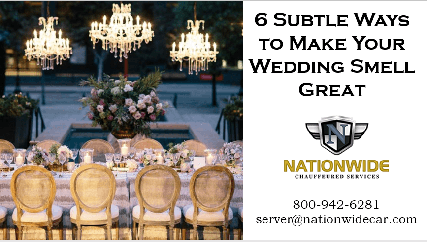 6 Subtle Ways to Eliminate Odors in Your Wedding Venue