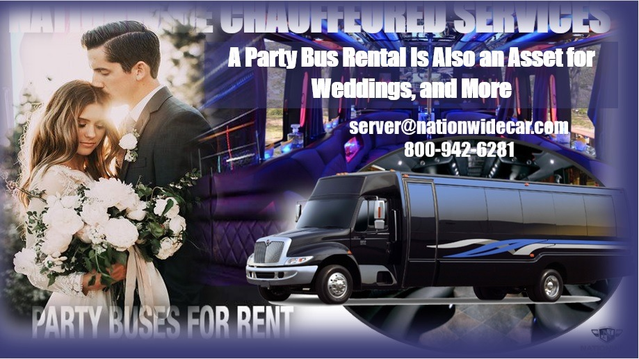 A Party Bus Rental Is Also an Asset for Weddings, and More-