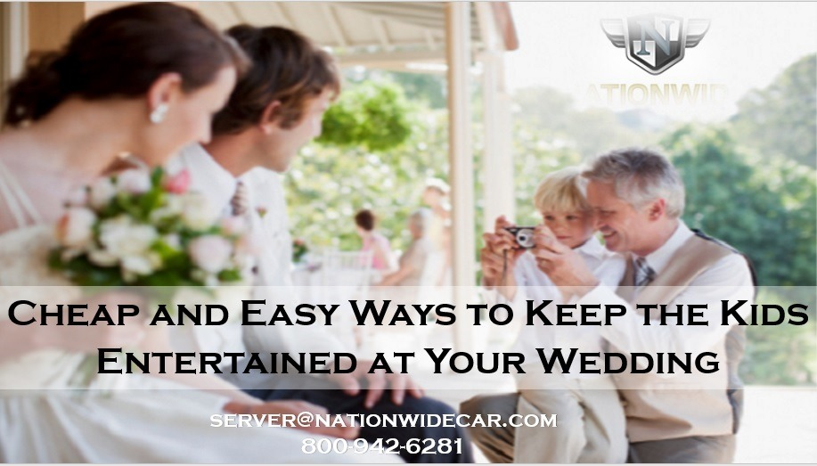 Cheap and Easy Ways to Keep the Kids Entertained at Your Wedding