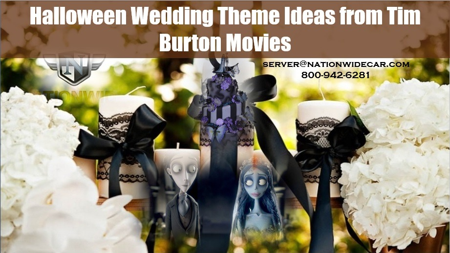Halloween Wedding Theme Ideas from Tim Burton Movies