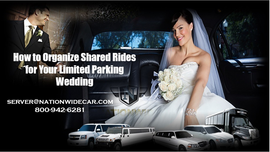 How to Organize Shared Rides for Your Limited Parking Wedding