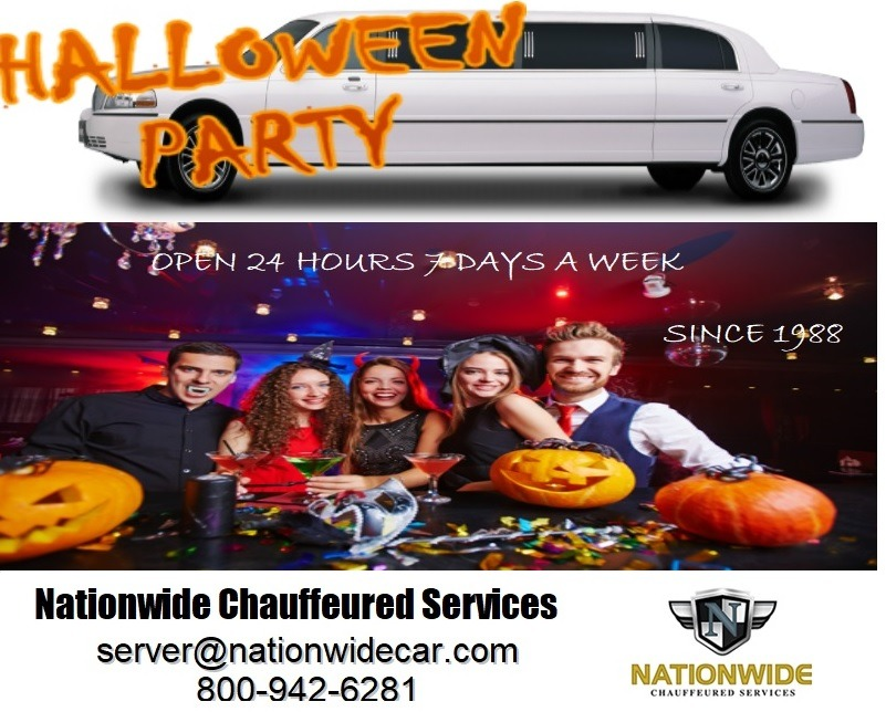 Limo Service for Halloween