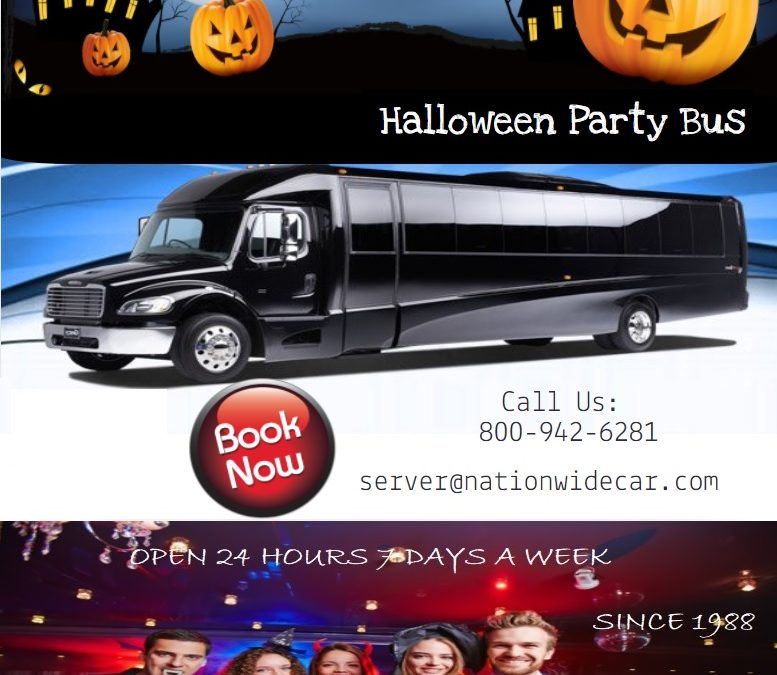 Halloween Party Bus Rental
