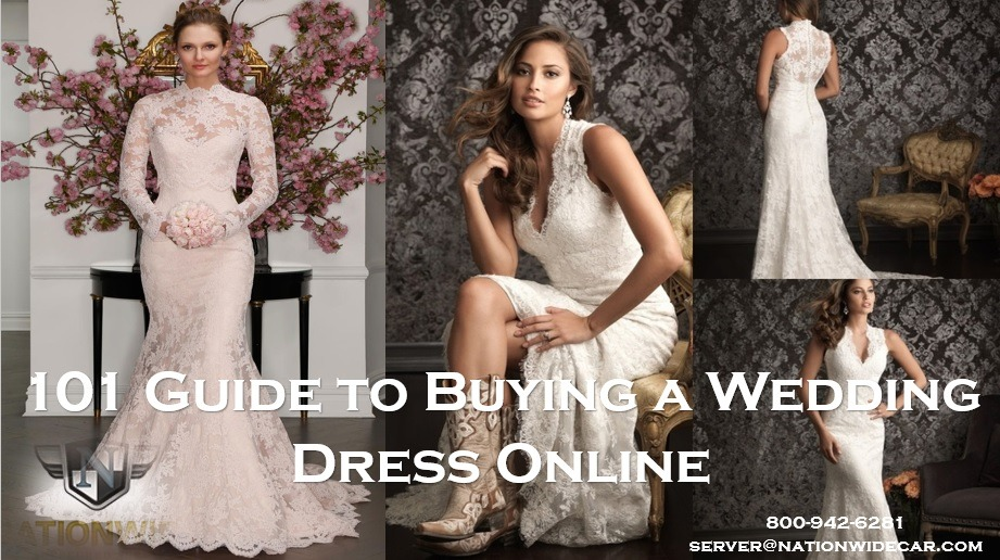 101 Guide to Buying a Wedding Dress Online