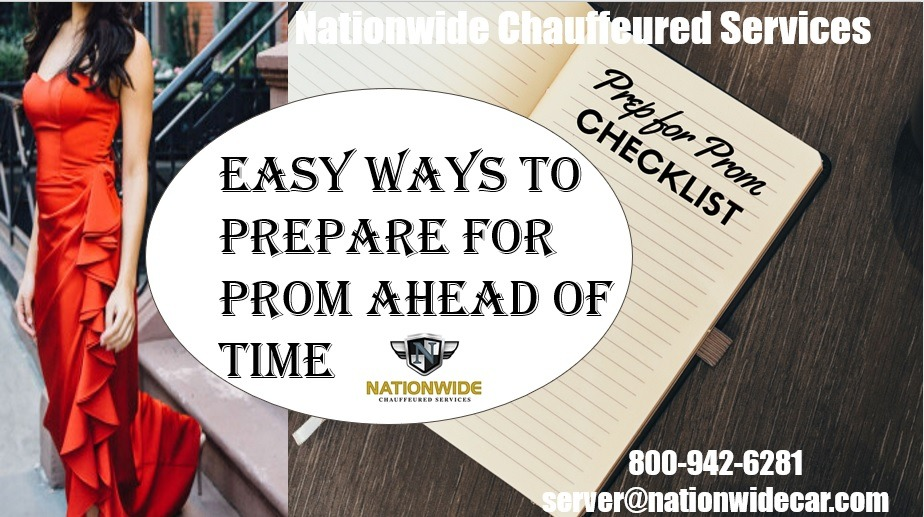 Easy Ways to Prepare for Prom Ahead of Time