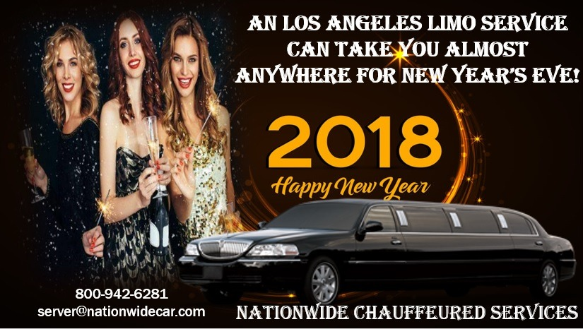 An Los Angeles Limo Service Can Take You Almost Anywhere for New Year's Eve!