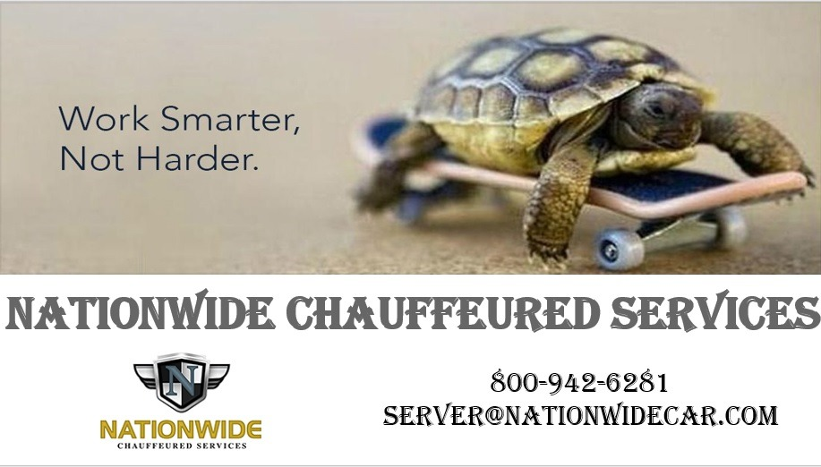 Nationwide Chauffeured Services - Work smarter not harder