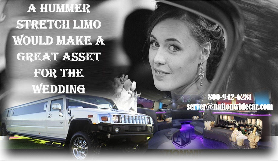 A Hummer Stretch Limo Would Make a Great Asset for the Wedding