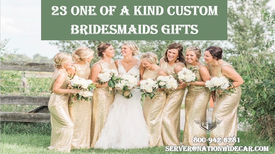 23 Amazing Personalized Bridesmaids Gifts