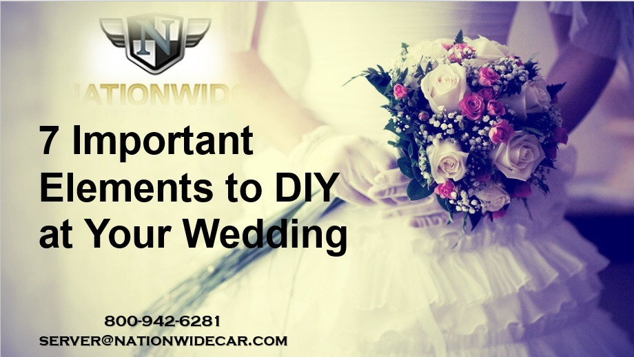 7 Important Elements to DIY at Your Wedding