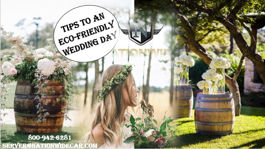 How Your Eco-Friendly Wedding Will Help the Environment