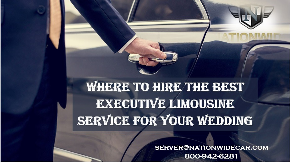 Where to Hire the Best Executive Limousine Service for Your Wedding