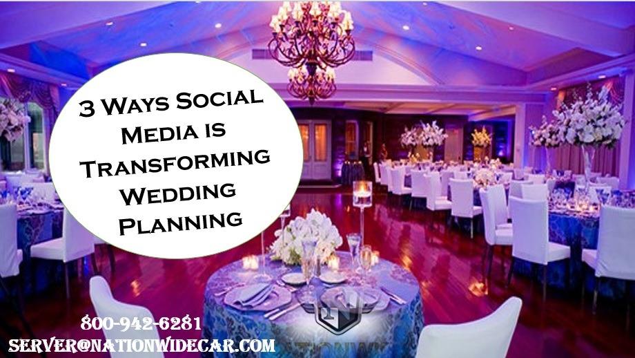 3 Ways Social Media is Transforming Wedding Planning